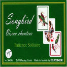 Songbird Patience / Solitaire ,Playing Cards Double Deck