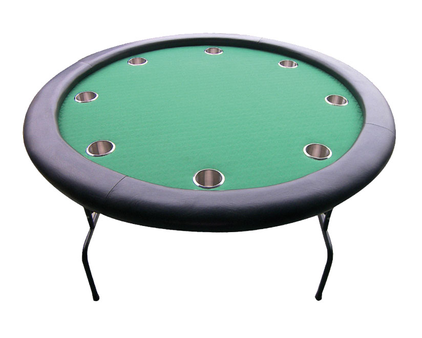 Round Foldable Poker Table 120 cm