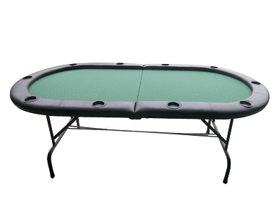 2-Folding Poker Table for 10 Players