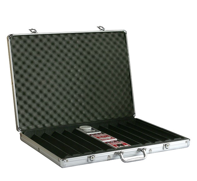 Aluminum Case for 1,000 Chips