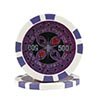 Ultimate Poker chip purple (500), roll of 25
