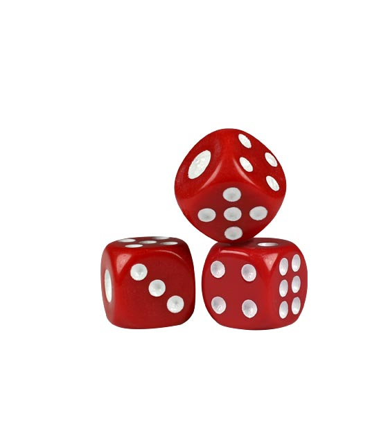 Red Dice - 14mm