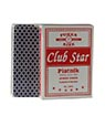 Club Star Poker Size Playing Cards Jumbo Index