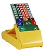 Lion Club Bidding Device with Cards (Set of 4, Yellow)