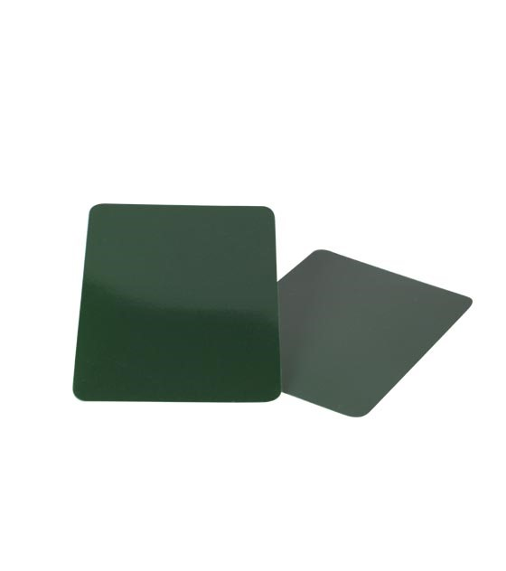 Plastic Green Cut-Card for Black Jack