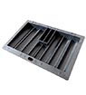 Black ABS Dealer Tray for 300 chips & 2 decks