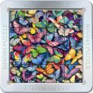 3D Magna Puzzle - Butterfly 16 tiles