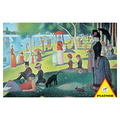 "Seurat - ""A Sunday Afternoon on the Island of La Grande Jatte"""